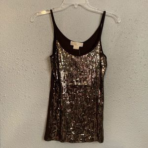 NWT Michael Kors sequined Camisole